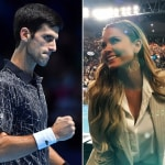 Novak Djokovic y Melissa Martínez