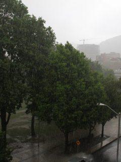 Las novenas comenzarán pasadas por agua: lluvias irán hasta mediados de diciembre