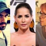 Lincoln Palomeque, actor; Carmen Villalobos, actriz; y Yaneth Waldman, presentadora.