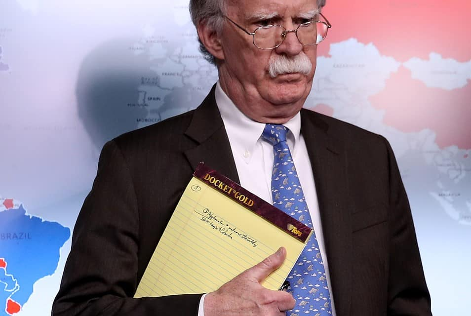 "John Bolton revela qué era mensaje de ""5.000 tropas a Colombia"""