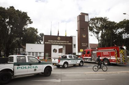 Fachada de la Escuela General Santander