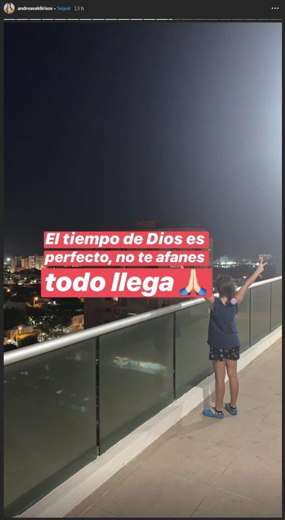 Balcón de Andrea Valdiri