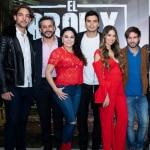 Lenard Vanderaa, Hans Martínez, Jim Muñoz, Sandra Guzmán, Rosmeri Marval, José Julián Gaviria y Santiago Soto, actores.