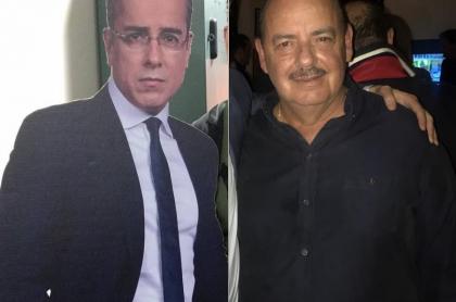 Jorge Enrique Abello, actor, y Fernando Gaitán, libretista.