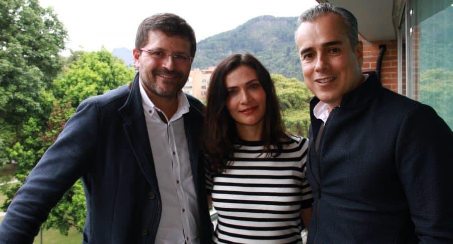Julio César Herrera, Ana María Orozco y Jorge Enrique Abello