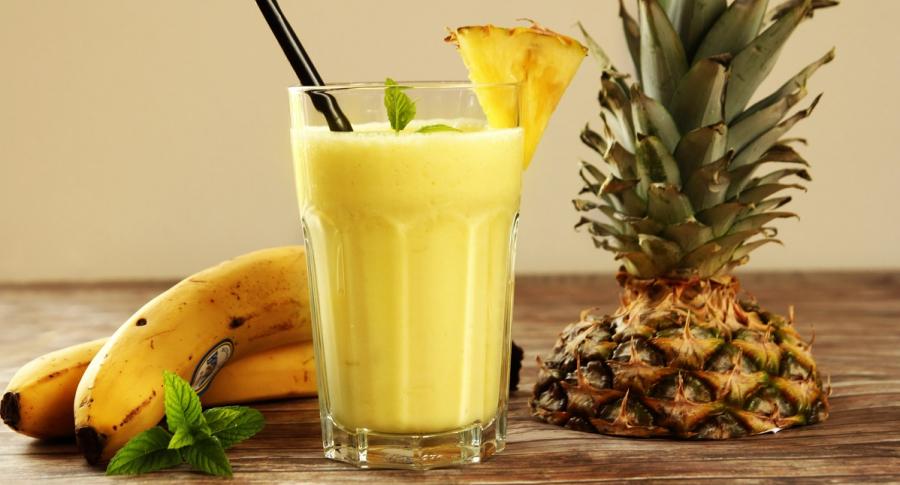 Piña y banano