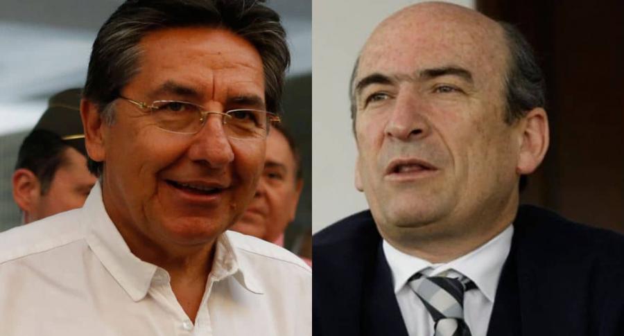 Néstor Humberto Martínez y Jorge Enrique Pizano