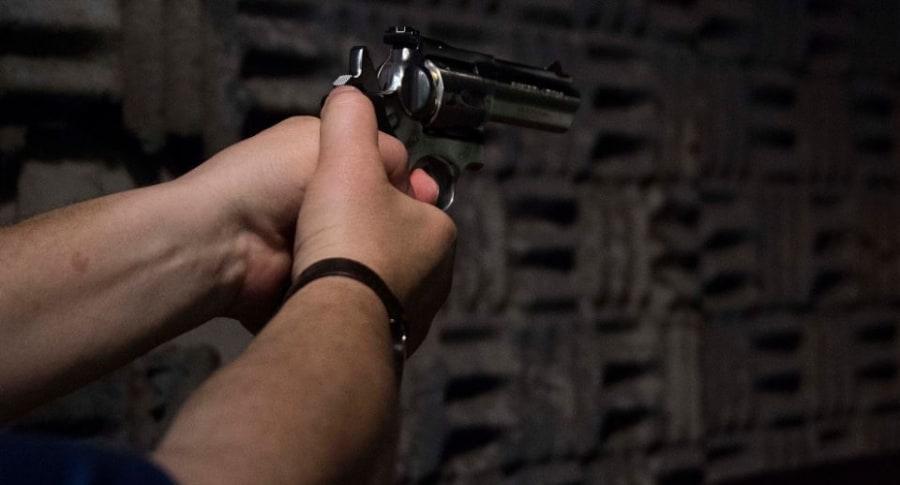 Disparo, arma de fuego