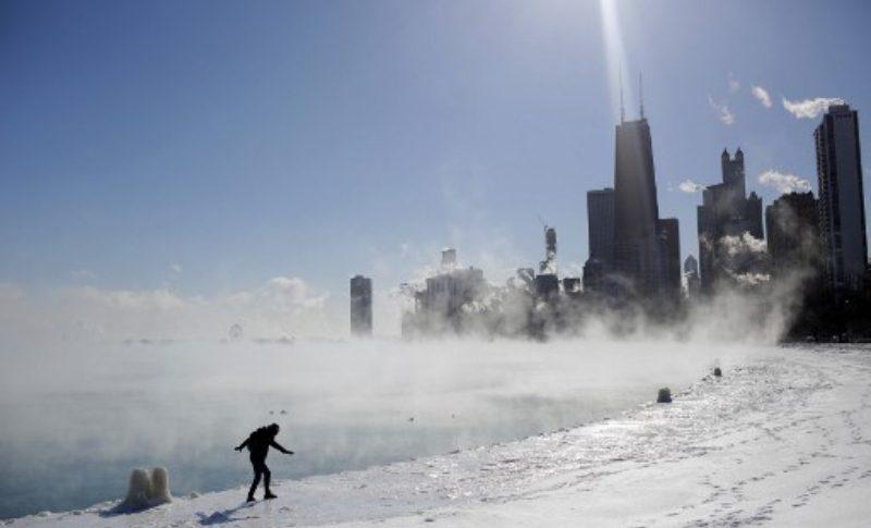 Ola de frio en Estados Unidos