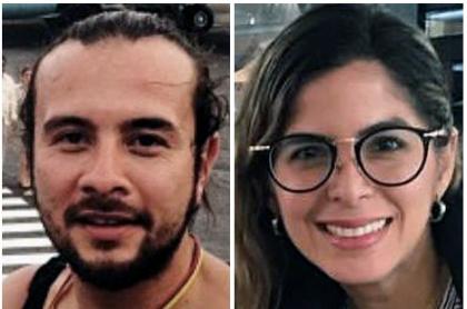 Leonardo Muñoz, Mauren Barriga y Gonzalo Domínguez,