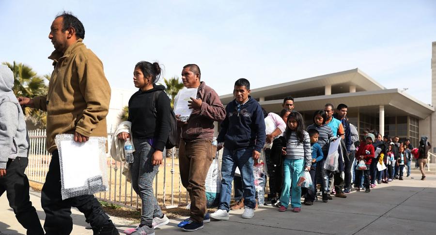 Inmigrantes en El Paso, Texas