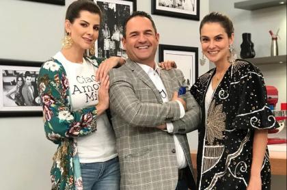 Carolina Cruz, Mauricio Vélez y Catalina Gómez, presentadores.