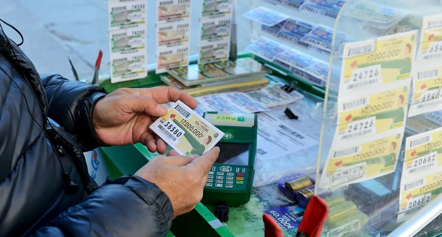 Compra billete de loteria