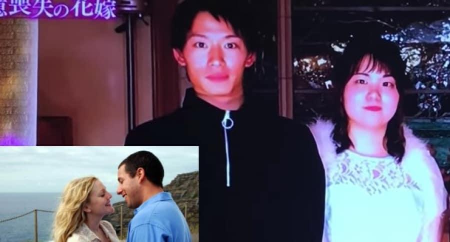 Japonés enamora a su novia con amnesia.