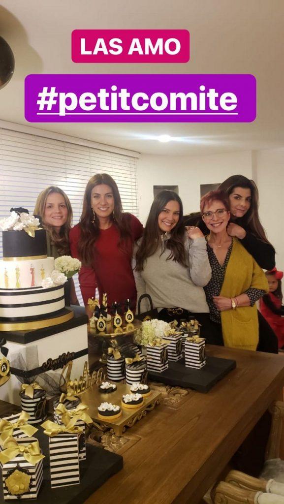 Ángela Cardozo, Andrea Serna, Jessica de la Peña, Yaneth Waldman y Carolina Cruz, presentadoras.