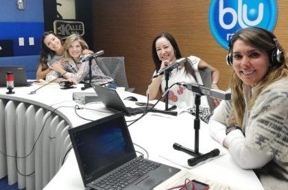 Manuela Cardona, Alexandra Pumarejo, Flavia dos Santos y Mónica Rodríguez.