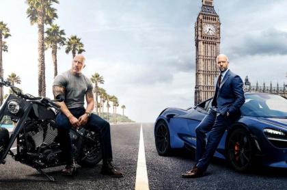 Póster oficial de 'Rápido y furioso: Hobbs & Shaw'.