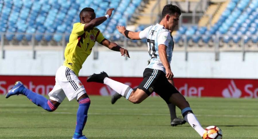 Selección Colombia vs. Argentina