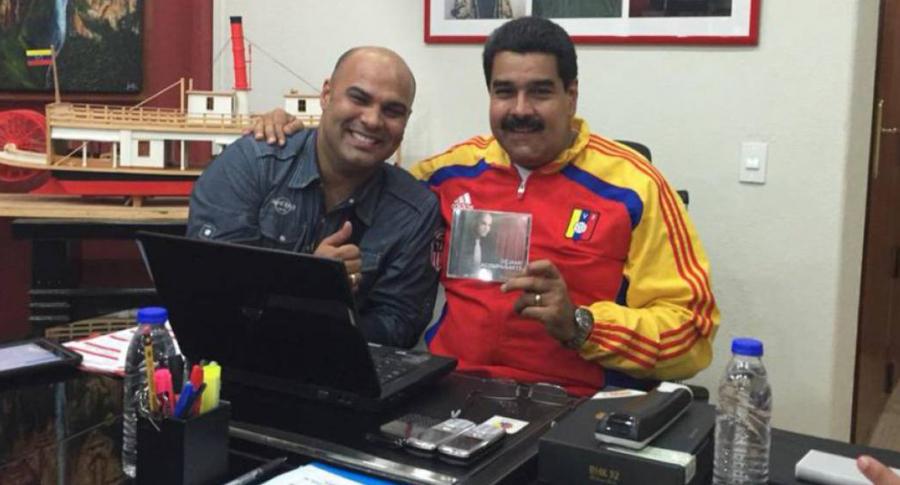 Omar Enrique y Nicolás Mduro