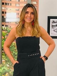Mónica Rodríguez, presentadora.