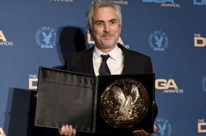 Alfonso Cuarón, ganador del DGA por 'Roma'