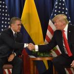 Iván Duque y Donald Trump, presidentes de Colombia y Estados Unidos, respectivamente.
