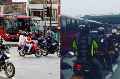 Motos y Transmilenio