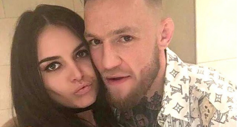 Terri Murray y Conor McGregor