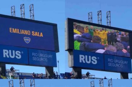 Partes del video que Boca Juniors dedicó a Emiliano Sala