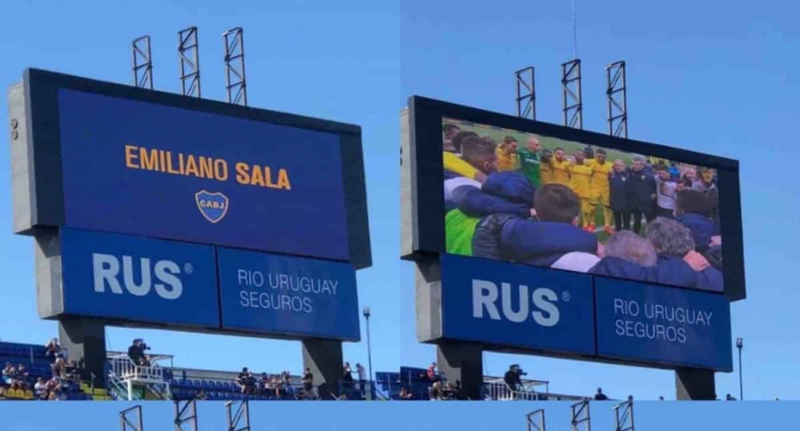 Partes del video que Boca Juniors dedicó a Emiliano Sala
