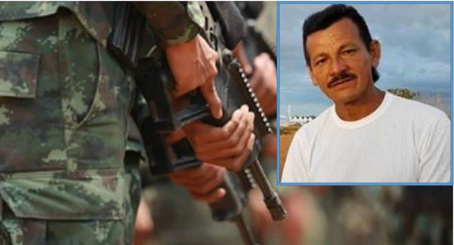 Alias 'Rodrigo Cadete', guerrillero abatido