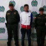Joven capturado por tráfico de estupefacientes