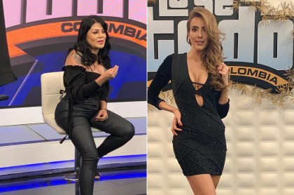 Marbelle y Violeta Bergonzi, presentadoras.