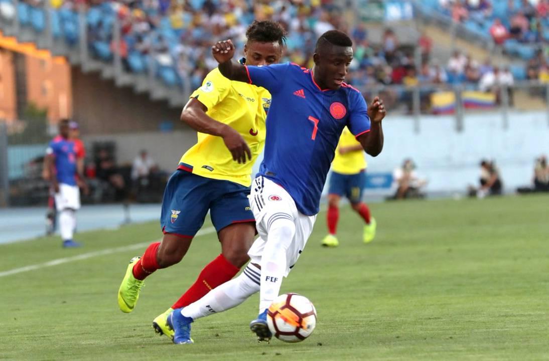 Selección Colombia vs. Ecuador