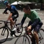 Chris Froome y colombiano