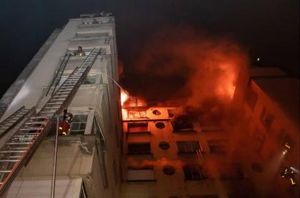 Incendio en París