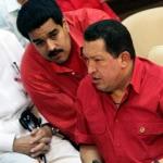 Hugo Chávez y Maduro