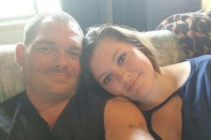 Travis Fieldgrove y Samantha Kershner