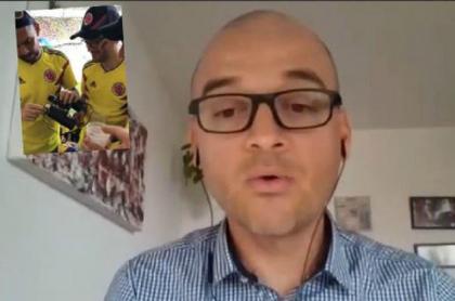 Hincha Selección Colombia, Luis Felipe Gómez