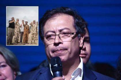 Misión en La Guajira y Gustavo Petro