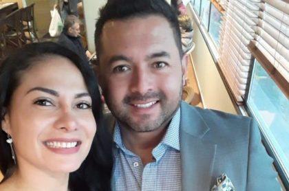 Sandra Milena Alegría, asesinada, y su esposo Billy Hernán Ortiz, sobreviviente