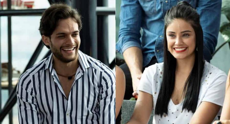 Alejandro y Leandra, de 'La Agencia'.