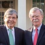 Carlos Holmes Trujillo y John Bolton