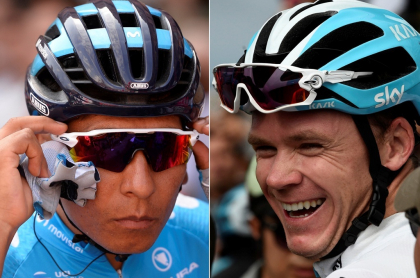 Nairo Quintana y Christopher Froome