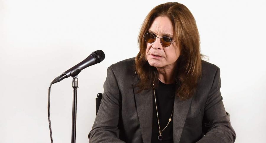 Ozzy Osbourne, cantante.