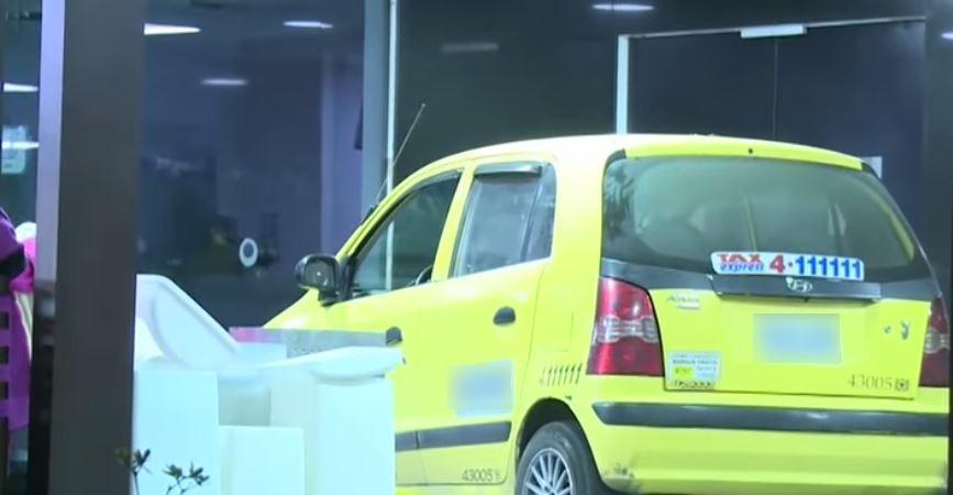 Taxi ivolucrado en crimen