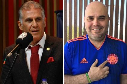 Carlos Queiroz y Andrés Marocco