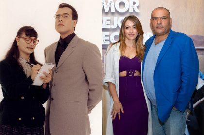 Ana María Orozco, Jorge Enrique Abello, Verónica Orozco y Enrique Carriazo.