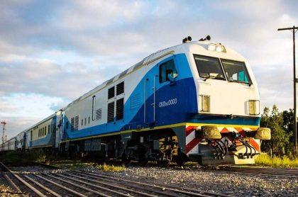 Tren en Argentina.