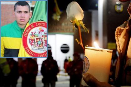 Andrés David Fuentes Yépez, cadete herido en atentado
